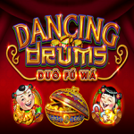 Dancing-Drums-slot-logo