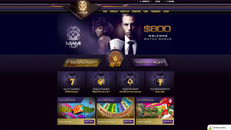 Miami Club Casino reviews