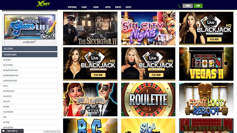 Xbet Casino slots