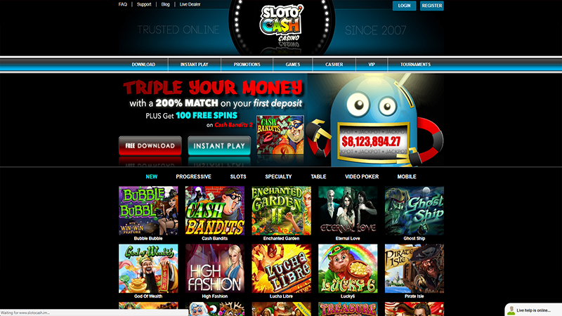 sloto cash casino slots
