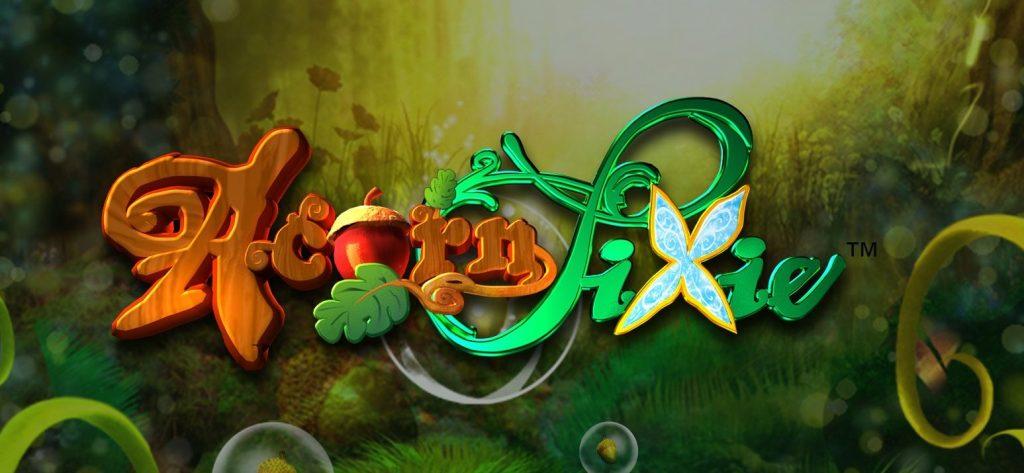 acorn pixie slot logo