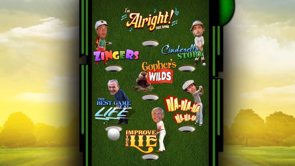 caddyshack slot gameplay