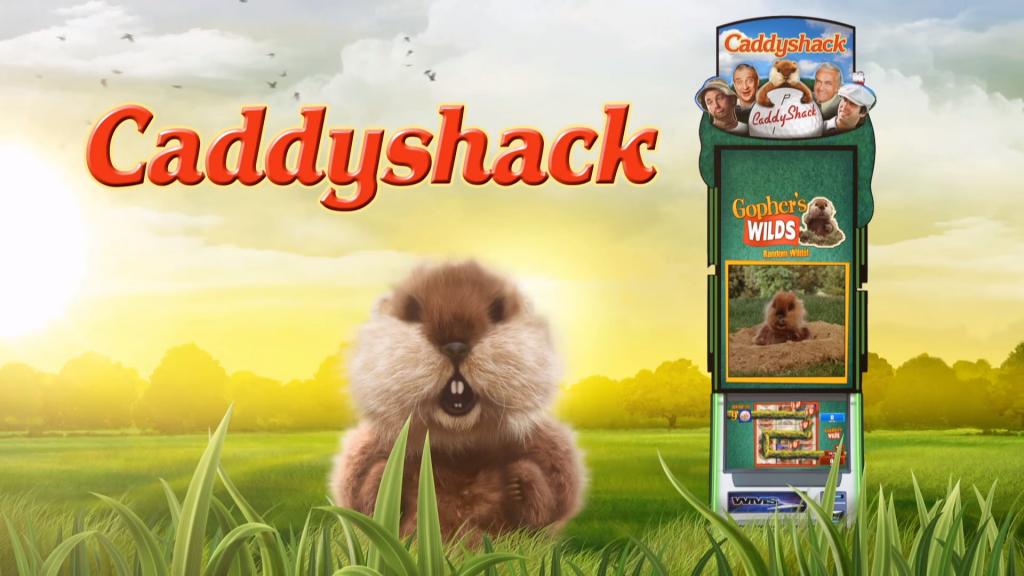 caddyshack slot logo