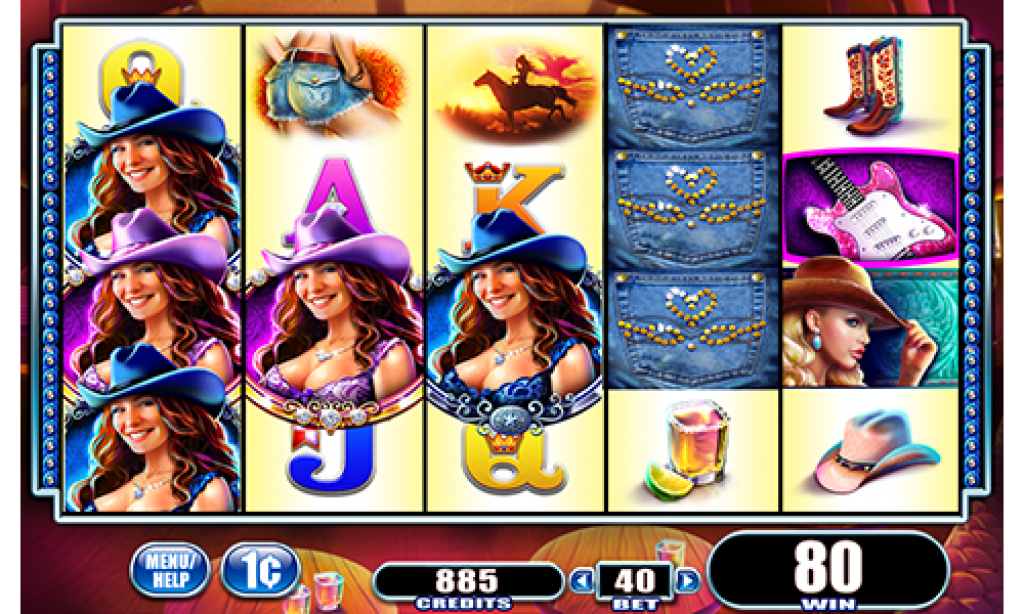 country girl slot gameplay