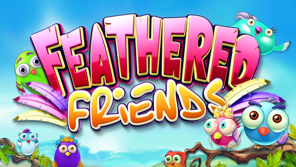 feathered friends slot logo