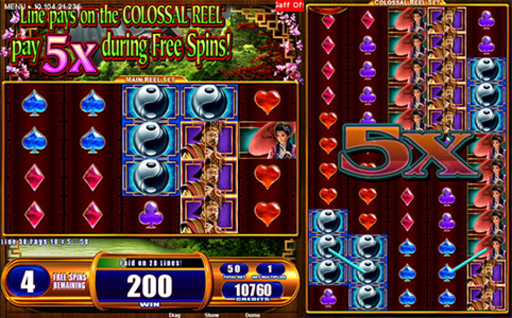 forbidden dragons slot gameplay