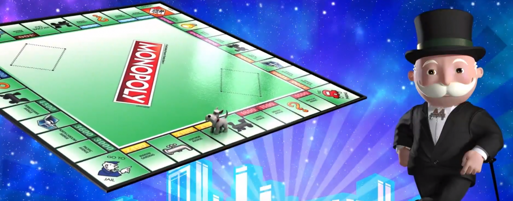 monopoly hot shot board