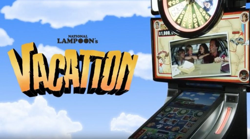 national lampoons vacation slot logo