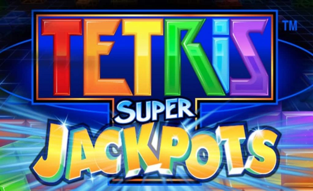 tetris super jackpots slot logo