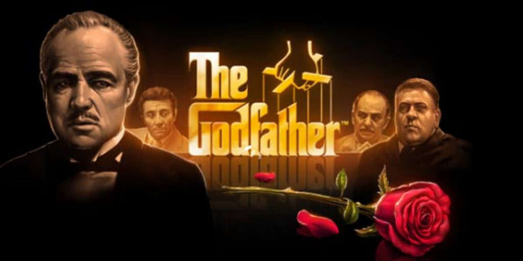 the godfather slot logo