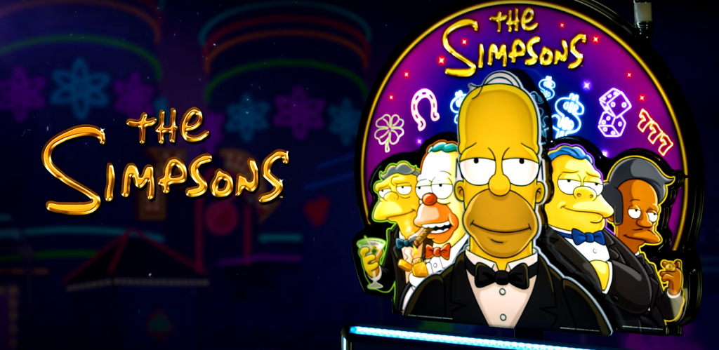 the simpsons slot logo
