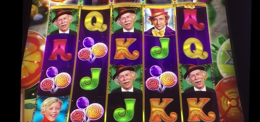 willy wonka dream factory slot gameplay