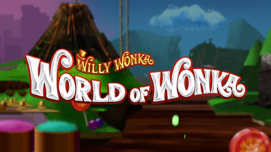 world of wonka slot logo