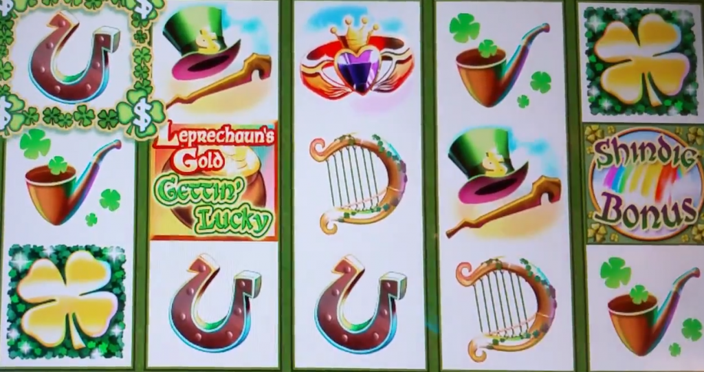 leprechauns gold gettin lucky slot gameplay