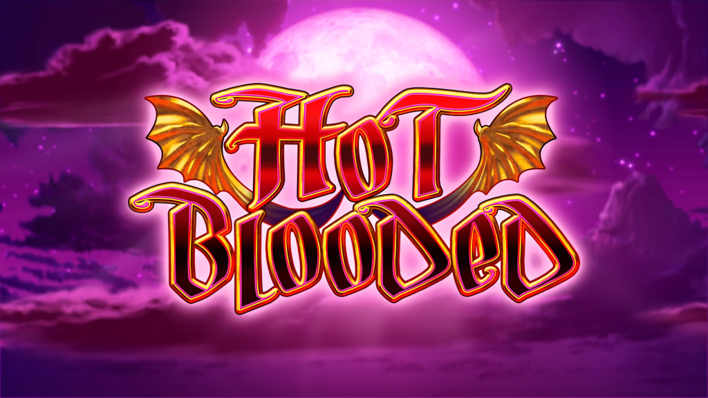 hot blooded slot logo