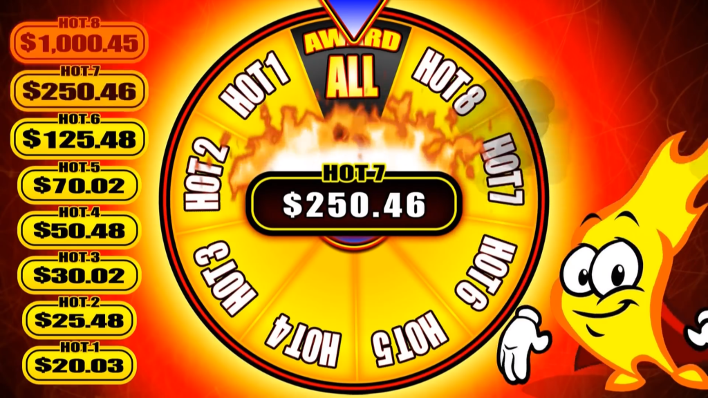 hot hot 8 slot gameplay