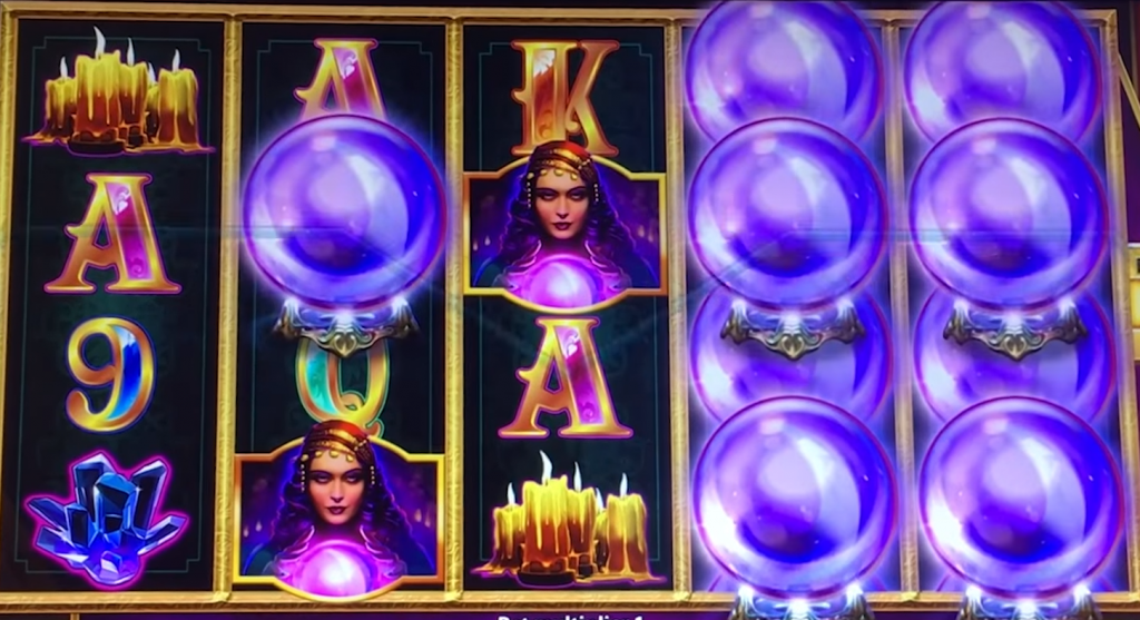 mystical crystals slot gameplay