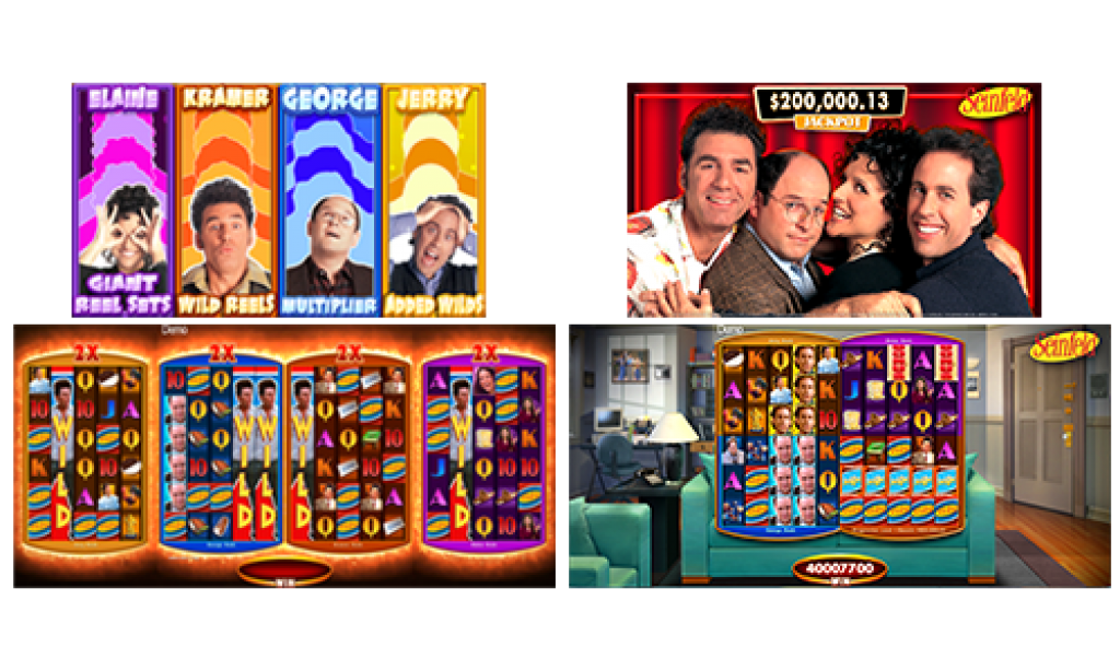 seinfeld slot gameplay