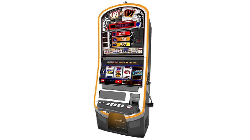spy vs spy slot machine