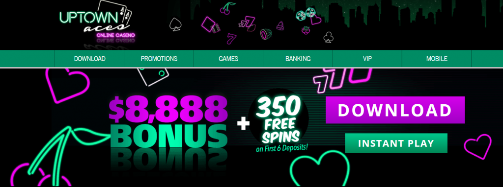 uptown aces casino offer